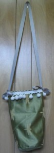 green dragonfly bag