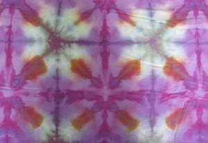 purple blue orange xs fabric
